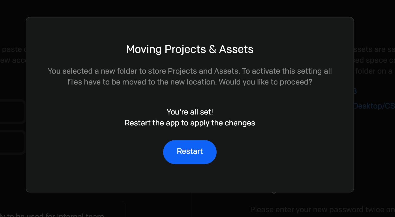 Fix CreateStudio Storage Full Error by Changing Storage Location